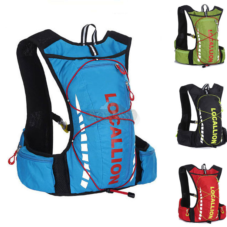Гаджет  10L Bicycle Bike Backpack Packsack Ride pack Cycling Bag Riding Sport ciclismo Hydration Pack Water Vest bag Backpack None Камера и Сумки