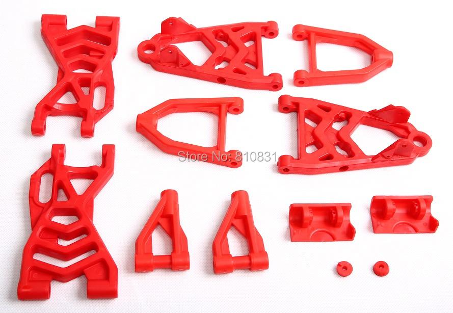 BAJA NEW Rear suspension nylon arm set 85250 for Rovan baja hpi 5b 5t sc <br><br>Aliexpress