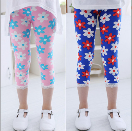 New Baby Kids Girls Leggings Pants Underwear Pattern Printed Trousers 3-12 Years for girls A-27 <br><br>Aliexpress