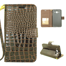 Buy Crocodile Flip PU Leather Wallet Cases Samsung Galaxy J1 2016 J120 J120F J120H Duos SM J120 SM J120F DS Covers Bags Phone for $3.98 in AliExpress store
