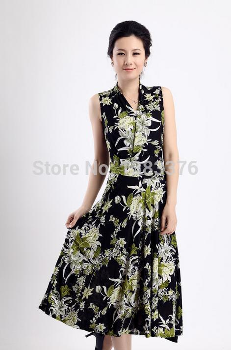 Popular Dresses Elderly Women-Buy Cheap Dresses Elderly Women lots ...