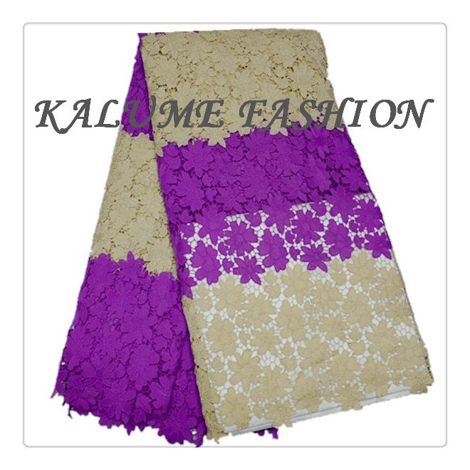 Free shipping!2015 embroidery fabric African cord lace fabric for wedding dress.New arrival high qualtiy guipure lace fabric(China (Mainland))