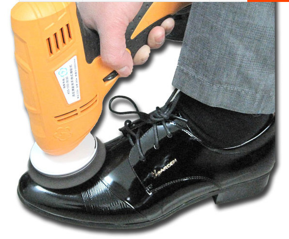 Portable Electric Automatic Shoe Brush Leather Care Cleaning Shoe Cleaner(China (Mainland))