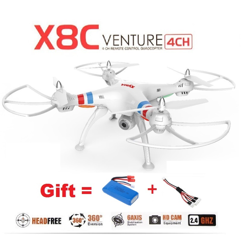 Гаджет  SYMA X8C&X8 2.4G 4CH 6Axis Venture RC Drone Quadcopter With 2MP Wide Angle HD Camera Remote Control Helicopter 2015 Newest None Игрушки и Хобби