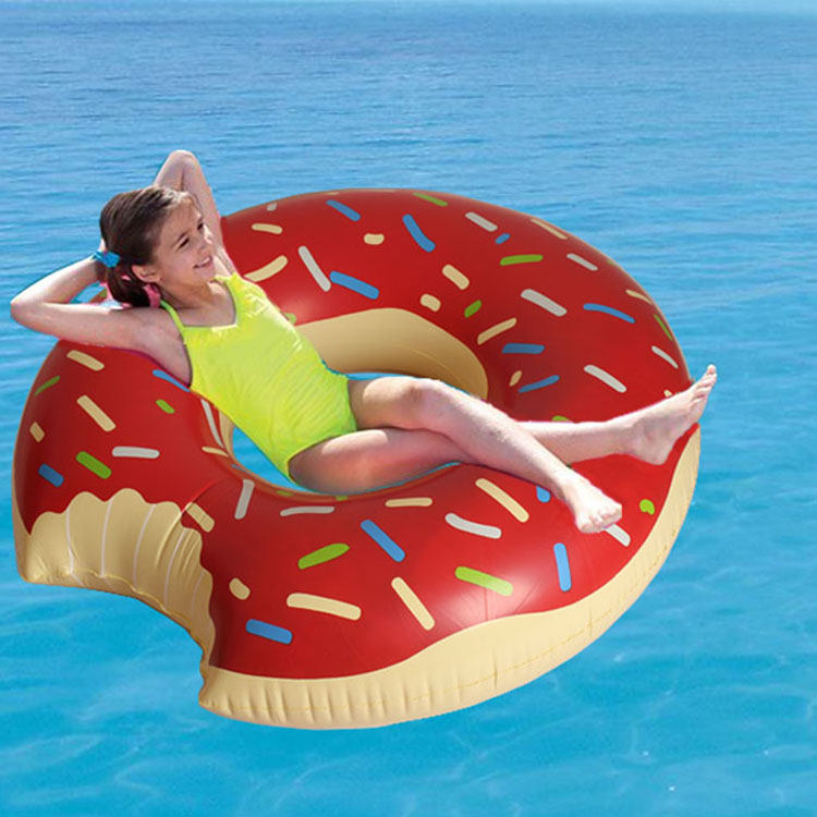 Pool Float Swimming Tube Inflatable Donut Pool Tube InSwimming Rings