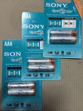 10 шт./лот оригинальный новое NI MH AAA 3A аккумуляторы 1.2 В 4300 мАч н . и . MH для Sony аккумулятор