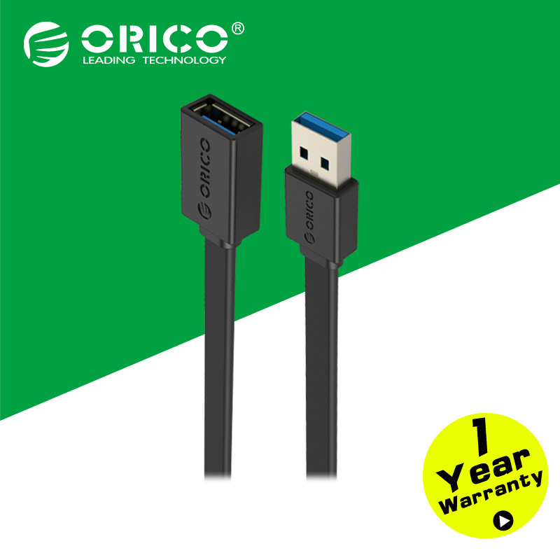 ORICO CEF3-10-BK USB 3.0 Male to Female Extension Charging Data Cable with 1m Length(China (Mainland))