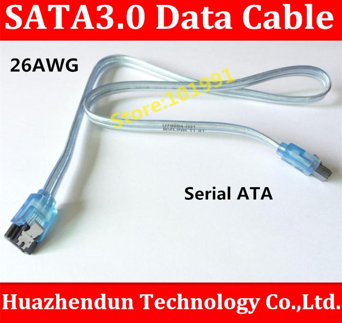 2PCS/LOT SATA3.0 Cable 6Gbps Flat Data Cable For HDD Sata Serial ATA HD Data Hard Drive Signal Cable(China (Mainland))