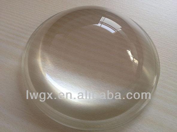 5pcs,Diameter 68mm optical glass aspheric lens,plano convex lens for flashlight, car lamp,led work light,HID Xenon Work Light(China (Mainland))
