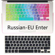 Buy Silicone EU/UK Russian alphabet Keyboard Cover Stickers Protector MacBook Air 13.3 Mac Book Pro 13 15 Retina for $2.99 in AliExpress store