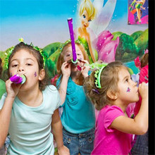1 piece  plastic whistling Long nose whistling kids toy party supply birthday gift kids toy(China (Mainland))
