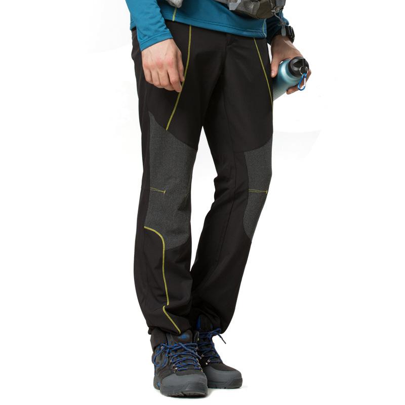 2015 New Outdoor Pants Men Hiking&Camping Softshell Pants Waterproof Windproof For Hiking Camping Ski WP-HHL012