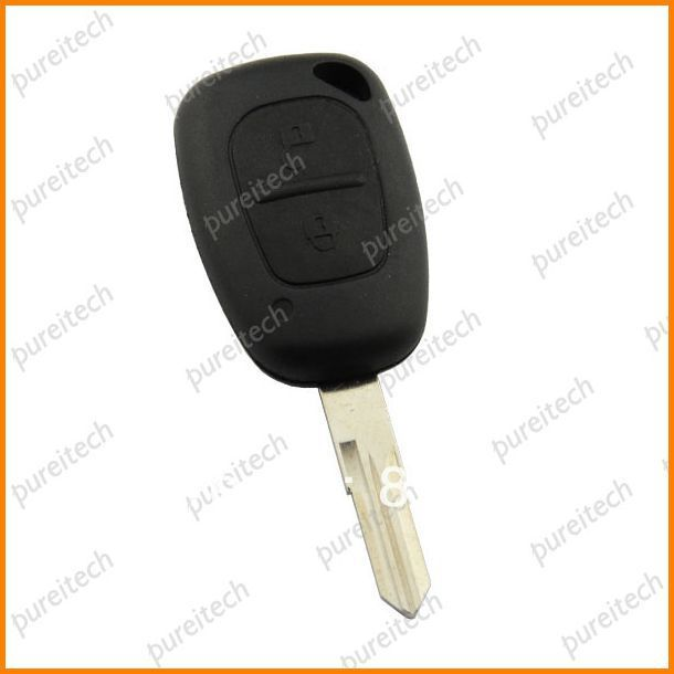 Renault remote key shell 2 buttons with Valeo on blade car key blanks for sale no logo<br><br>Aliexpress