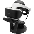 Universal VR Headset Stand Organiser Display Holder Rack Storage with Cable Management for PlayStationPS4 Oculus Rift