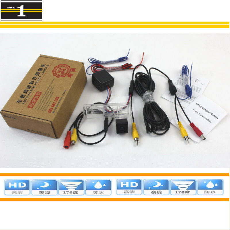 Car Camera For Toyota Prius 2001~2003 / Rear View Back Up Camera / HD CCD Night Vision + Power Relay Protection<br><br>Aliexpress