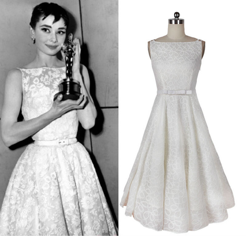 Ausgezeichnet Audrey Hepburn Stil Prom Kleid Fotos - Brautkleider ...