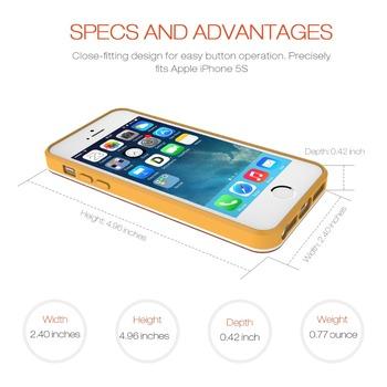 Etui plecki do iPhone 5 5s bambusowe trzy kolory