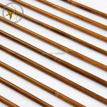 Free Shipping 12 Pcs Archery Traditional Hunting Shooting Broadheads Self Nocks Real Turkey Feather Bamboo Shaft