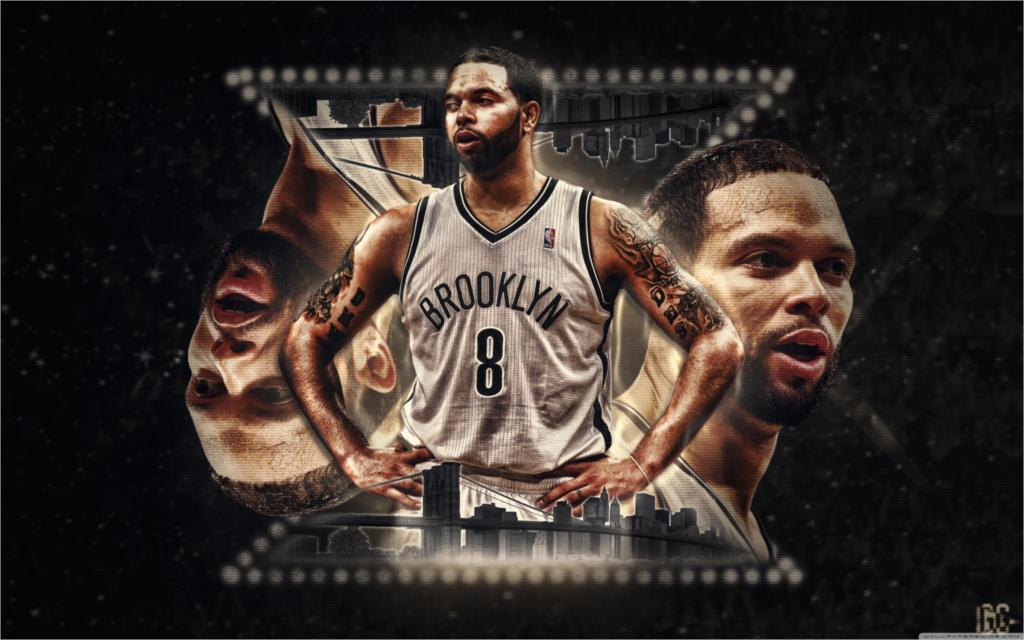 Living room home wall decoration fabric poster Deron williams brooklyn(China (Mainland))