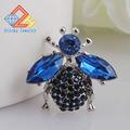 High Quality Bee Brooches Blue Rhinestone Brooch Fashion Animal Jewelry Wedding Gift Good