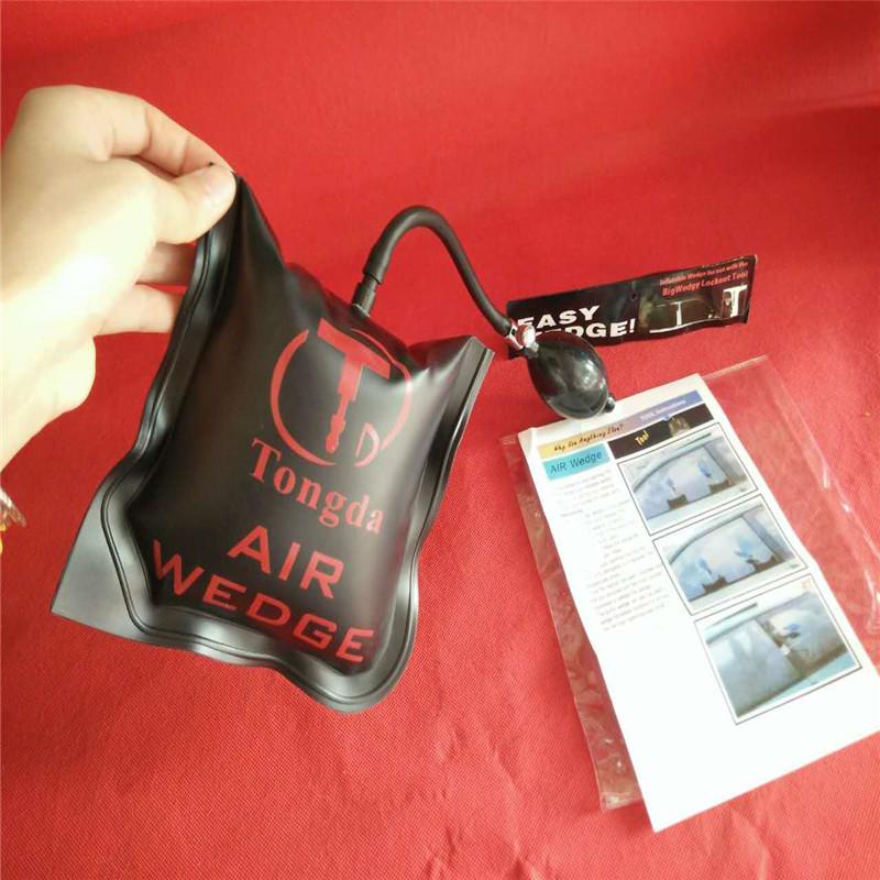 Customized Pump Air wedge for LOCKSMITH TOOLS Lock Pick Set Open Car Door Lock medium Size 17*17cm black(China (Mainland))