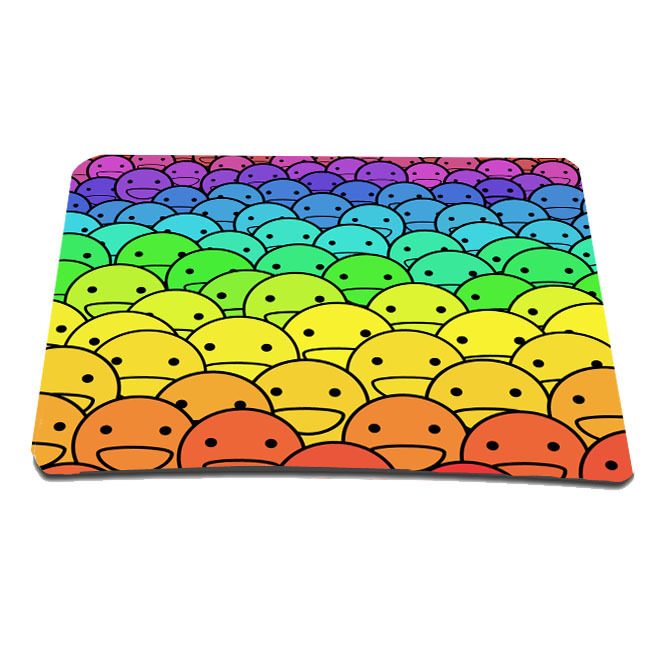 Hot Rubber Cute Kids Pad Anti-slip Mousepad Comfort Mat For Laser Mouse Computer Gaming Trackball Optical Mice Free Size Retail(China (Mainland))