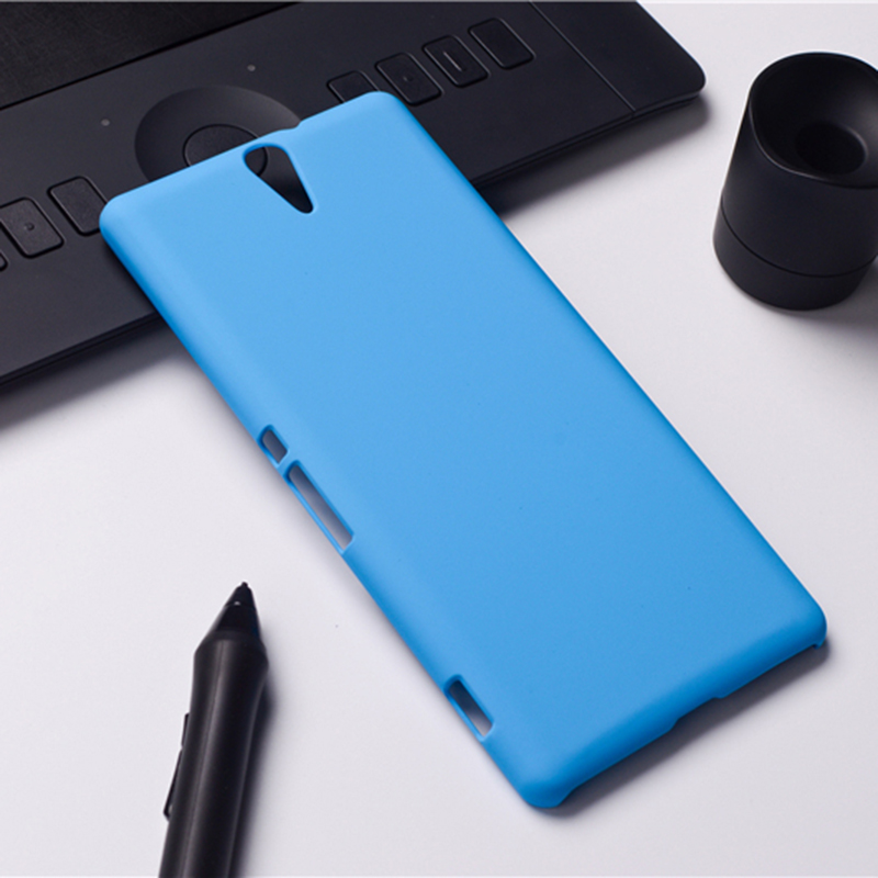 Case For Sony Xperia C5 E5553 E5506 E5563 New Rubber Frosted Matte Back Cover For Sony C5 Hood Hybrid Original Hard Phone Cases(China (Mainland))