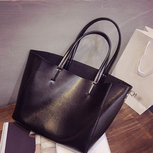 2016 spring new women's fashion casual handbags imported ladies brand handbags PU handbags color bags shoulder bag free shiping(China (Mainland))