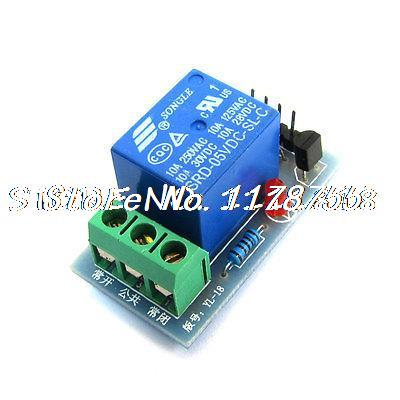 DC5V 1CH High Level 10A Relay Driver Module for AVR PIC ARM(China (Mainland))