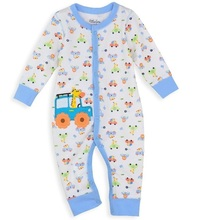 hot cotton babywear jumpsuit new born overall sleepwear top pajamas baby clothes W50(China (Mainland))
