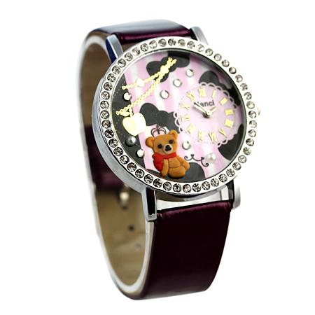 Brilliant Pretty Birdy New 2015 Two Light LED Watch Digital Women Dress Watches