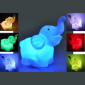 NFLC Colorful Lovely LED Elephant Shape Night Light Lamp