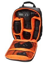 High quality Waterproof  multi-functional Digital DSLR Camera Video Bag Small SLR Camera Bag for Photographer(China (Mainland))