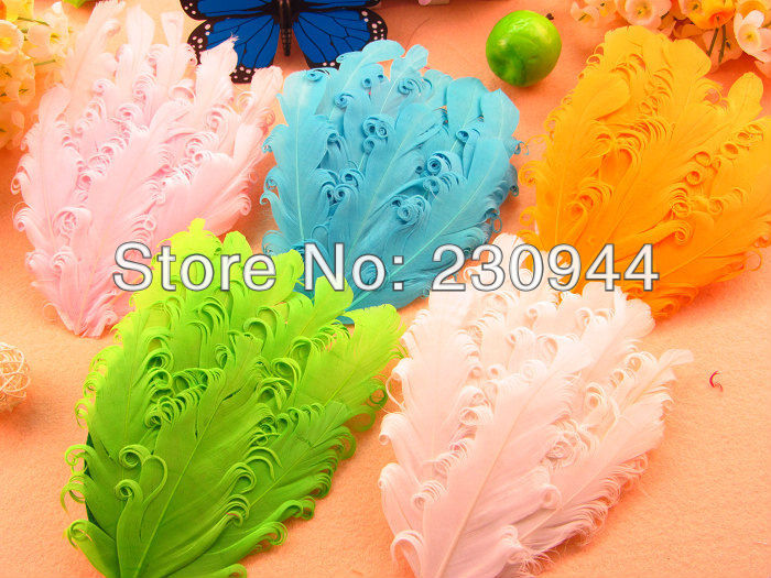 Sample order 10pcs/lot 8colors 6inch Feather flower Baby girls diy hair accessories Kids headwear Without Hair Clips(China (Mainland))