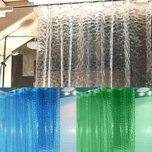 BUH9 1.8*1.8m Moldproof Waterproof 3D Thickened Bathroom Bath Shower Curtain(China (Mainland))