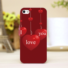 PZ0004-4-4 Valentine Design Customized cellphone transparent case cover for iphone cases for iphone 4 5 5c 5s 6 6plus