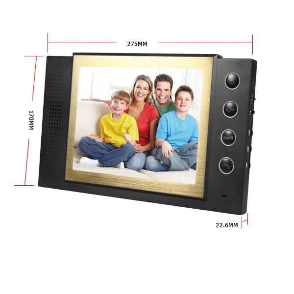 8 inch LCD Video Door Phone Doorbell Intercom Video Syste Home Security<br><br>Aliexpress