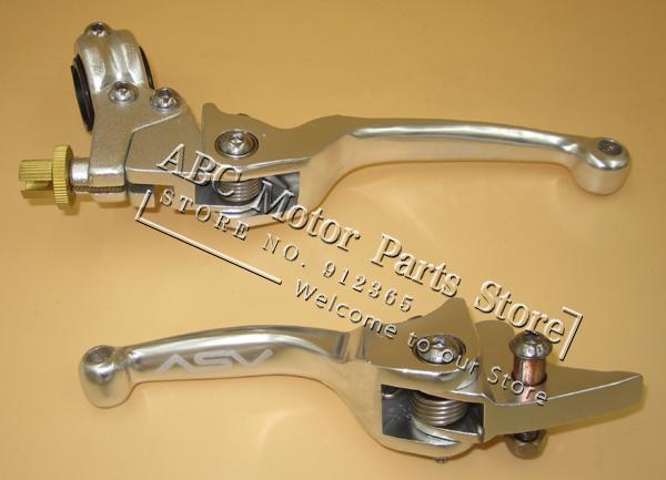 Ds 90 Brake Lever : Asv clutch brake folding lever fit most motorcycle atv