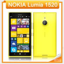"""2016 Hot Sale 6.0"""" Original Nokia Lumia 1520 for Windows 8 Quad Core 2gb Ram +32gb Rom Camera 20mp Nfc Bluetooth Gps Cellphone(China (Mainland))"""