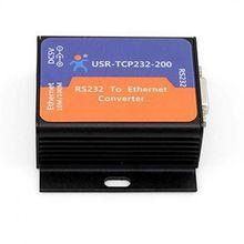 Q00227 USR-TCP232-200 Serial RS232 to Ethernet TCP IP Converter TCP Server TCP(China (Mainland))