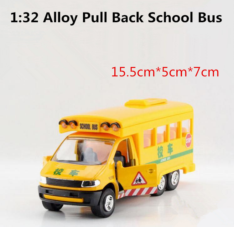 Super alloy die-cast toys, 1:32 alloy model school bus, high simulation car models, children educational toys, free shipping(China (Mainland))