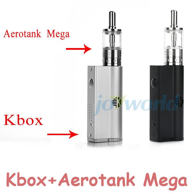 ถูก 100%เดิมบุหรี่อิเล็กทรอนิกส์ชุดเดิมKangertech Kboxสมัย8-40วัตต์กับKanger Aerotankล้านชุด3.8 MLAtomizerไอYY