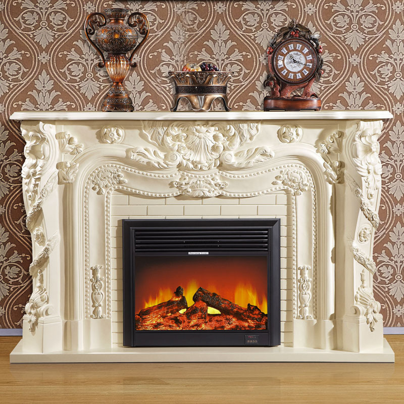 Foshan furniture european style fireplace 1 9 m american for European home fireplace