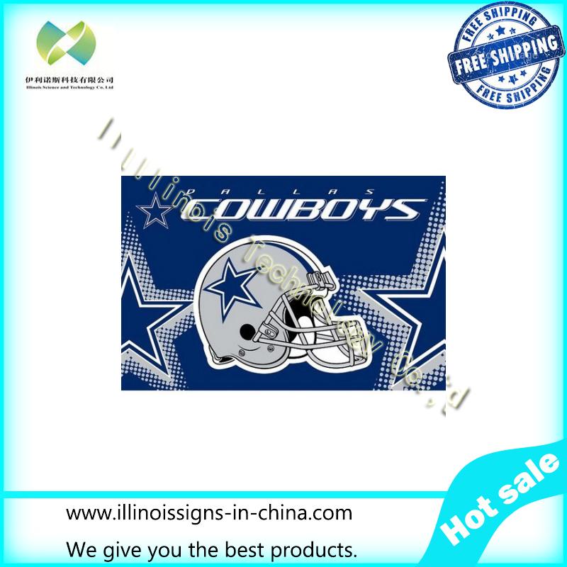 Dallas Cowboys USA 2015 Helmet NFL Premium Team Football Flag 3X5FT DCH01(China (Mainland))