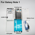 Original Replacement Parts for samsung N7000 4 in 1 Full Housing Face plates and galaxy note