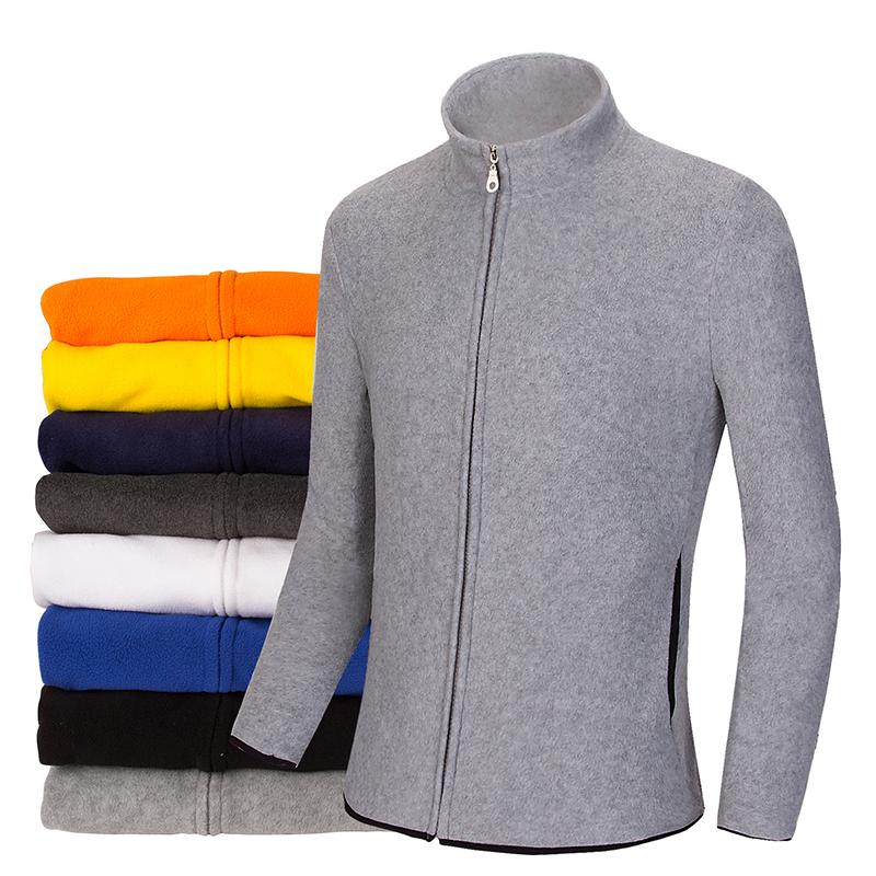 2015 New Fashion Jacket Men Fleece Jacket Coats Outdoor High Quality Jackets For Men Tops Orange Blue Grey Black Yellow M-3XL(China (Mainland))