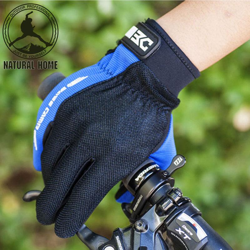 [NaturalHome] Brand Cycling Gloves Full Finger Windstopper Motocross Men's Bike Sport Gloves Guanti Motocross Luvas(China (Mainland))