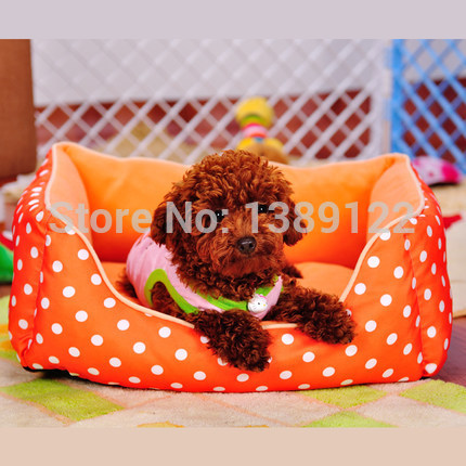 Free shipping square waterproof washable kennel dog kennel winter mat small dog kennel dog house Teddy cat mat cat bed(China (Mainland))