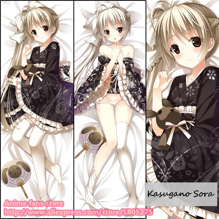 Anime Yosuga Sora Kasugano Cute Japanese Pillowcase Pillow Case Cover decorative Hugging Body Bedding - fans store