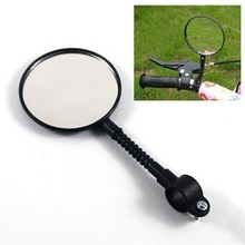 2014 Free Shipping Bicycle Bike Sports Handlebar Flexible bicycle Rearview Mirror bicycle parts